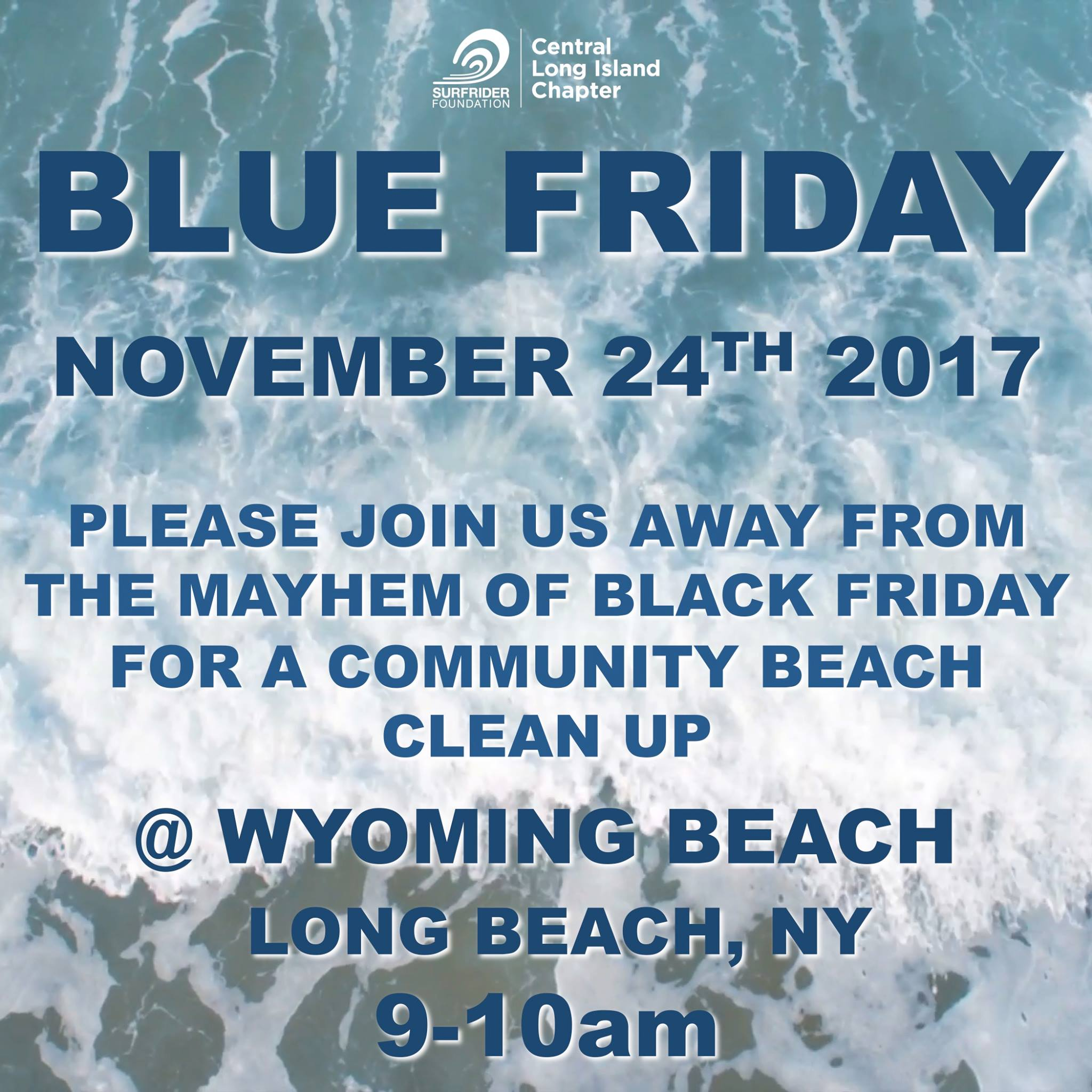 Skip black Friday and help cleanup our beaches!