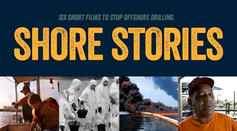 Join us for a night of shore stories on the risks from offshore oil drilling!
