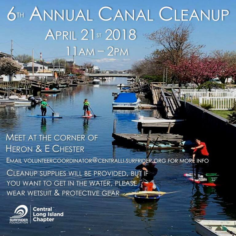 Join us for the 6th annual Earth Week canal cleanup on Saturday, April 21st!