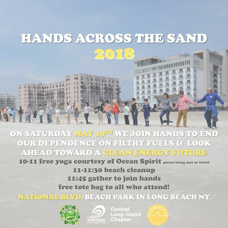 Hands Across the Sand 2018