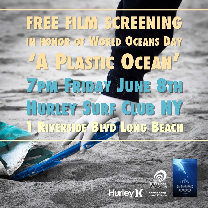 Free movie screening on the boardwalk! 'A Plastic Ocean'