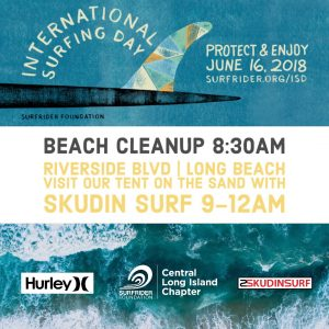 International Surfing Day- Beach Cleanup, June 16th at 8:30am