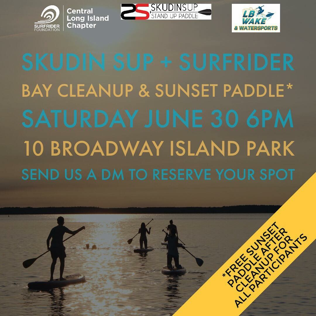 Sup Cleanup, Saturday, June 30th 6pm