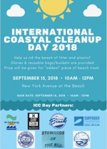 International Coastal Cleanup Day – South Shore Cleanup!