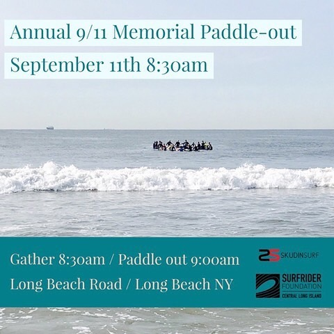 Annual 9/11 Paddle Out