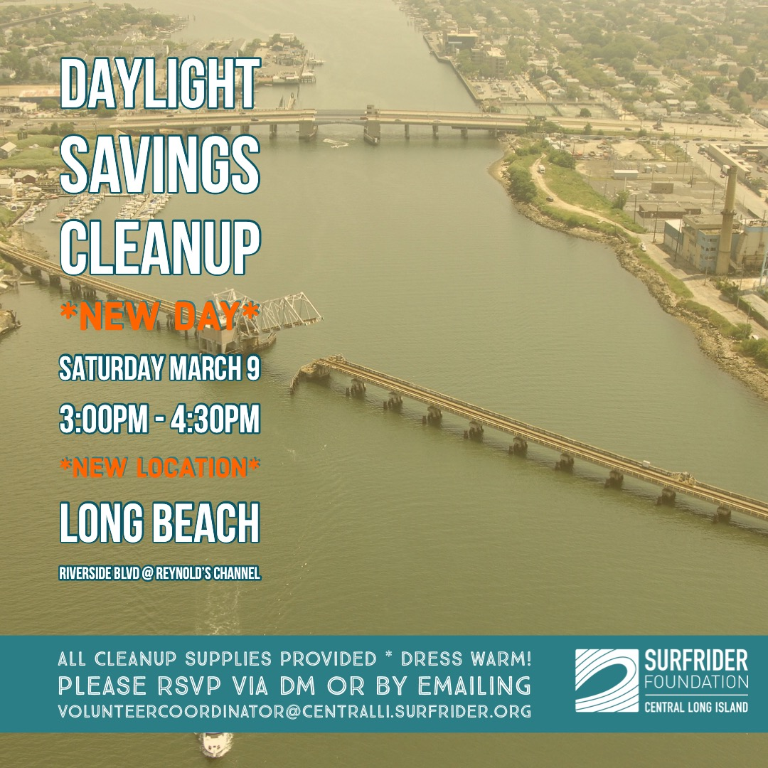 Daylight Savings Beach Cleanup!
