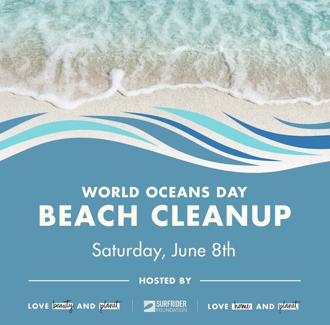 Worlds Ocean Day Beach Cleanup June 8th!