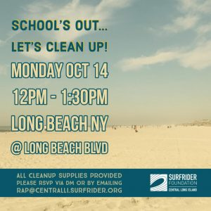 Student Beach Cleanup – All are Welcome!