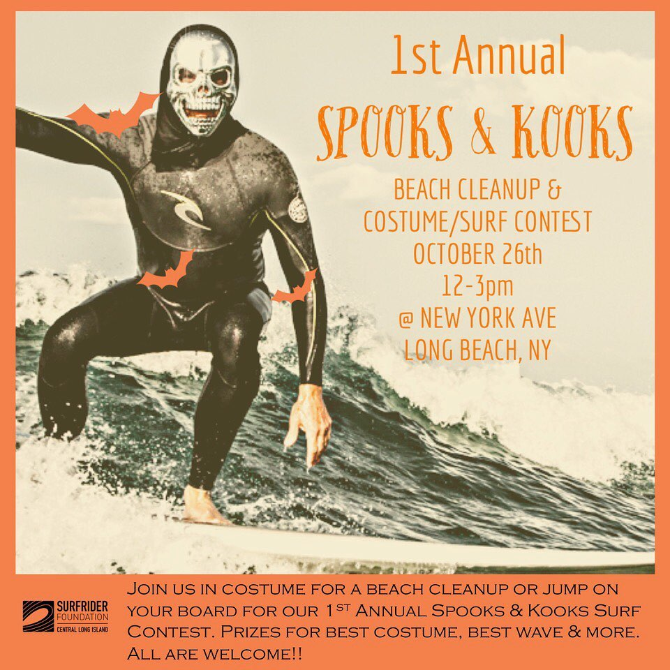1st Annual Spooks & Kooks Beach Cleanup and Surf Contest