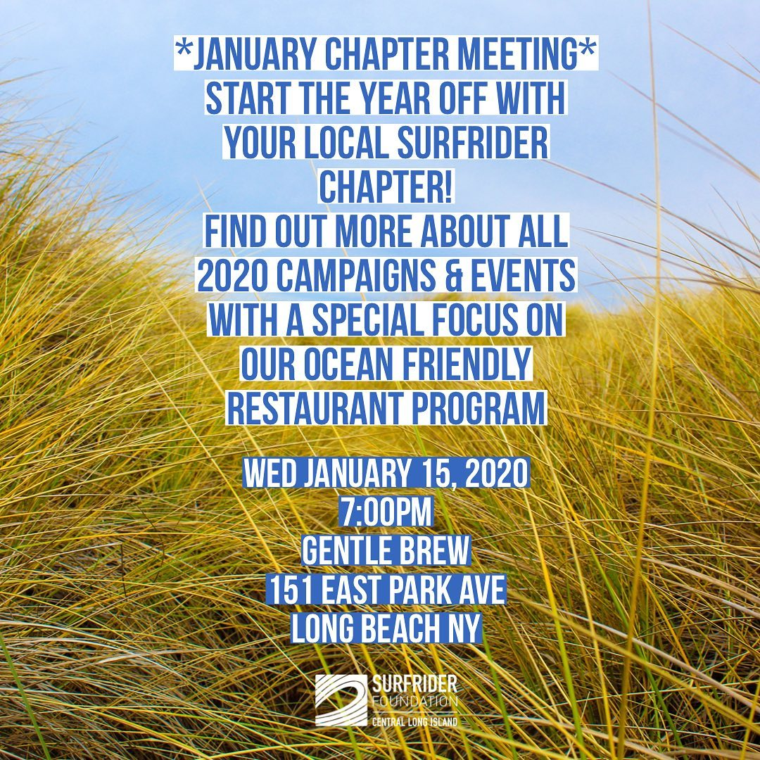 First Chapter Meeting of 2020! January 15th- Gentle Brew Coffee