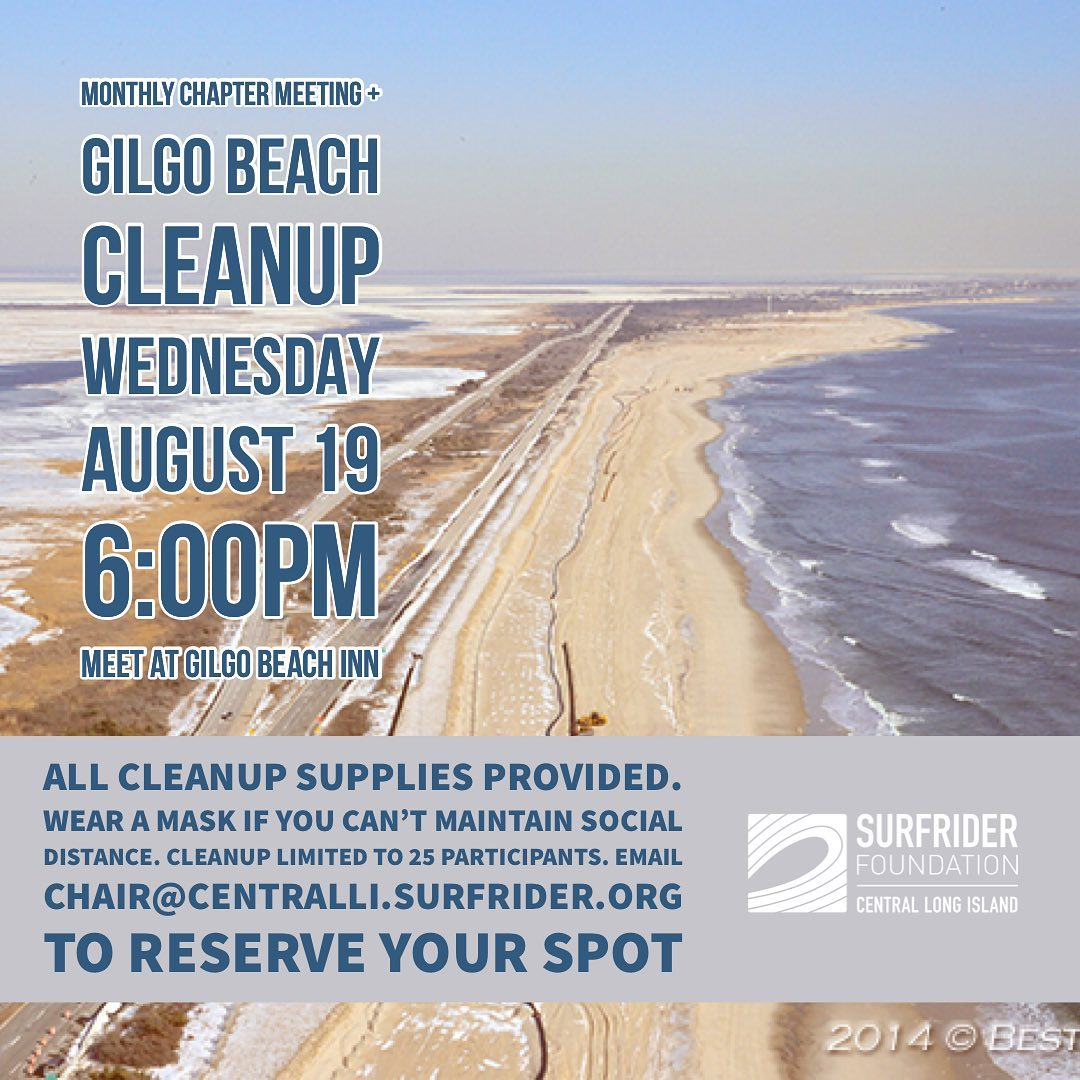 August Chapter Meeting & Cleanup!