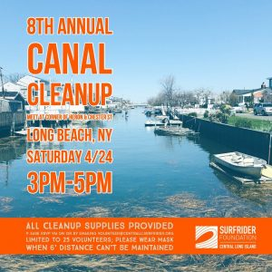 8th Annual Canal Cleanup