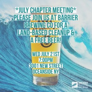 July Chapter Meeting w/a cleanup and a free beer!